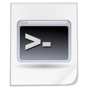 Mimetypes shell script icon