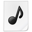 Mimetypes sound icon