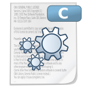 Mimetypes source c icon