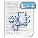 Mimetypes source cpp icon