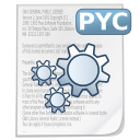 Mimetypes source pyc icon