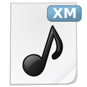 Mimetypes xm icon