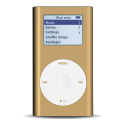 iPod mini bronze icon