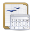 Apps openoffice calc icon