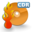 Devices cd writer icon