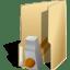 Folder development hammer icon
