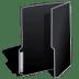 Folder-black icon