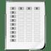 Mimetypes-spreadsheet icon
