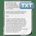 Mimetypes-txt icon