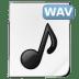 Mimetypes-wav icon