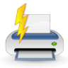Actions-file-quickprint icon