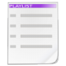 Actions-playlist icon