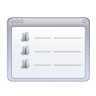 Actions-view-detailed icon