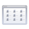 Actions-view-multicolumn icon