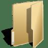 Filesystems-folder-open icon