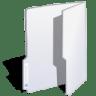 Folder-white icon