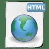 Mimetypes-html icon