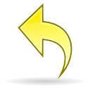 Arrow undo icon
