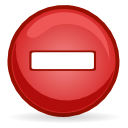 Dialog error icon