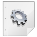 Mimetypes executable icon