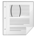Mimetypes-gnome-mime-text-x-scheme icon