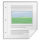 Mimetypes writer icon