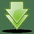Arrow-double-down icon