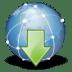 Extras-internet-download icon