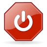 Button-exit icon