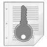 Mimetypes-gnome-mime-application-pgp-keys icon