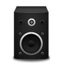 Speaker-black icon
