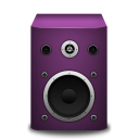 speaker pink icon
