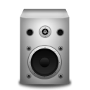 Speaker-white icon