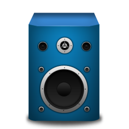 speaker brightBlue icon