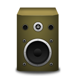 speaker orange icon