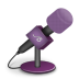 Microphone-foam-pink icon