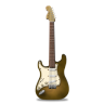 Guitar-stratocaster-orange-bright icon