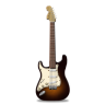 Guitar-stratocaster-orange icon