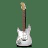 Guitar-stratocaster-white icon
