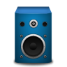 Speaker-brightBlue icon