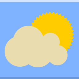 Apps indicator weather icon