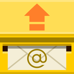 Places mail sent icon