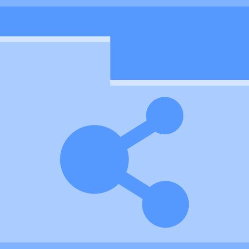Places folder public icon