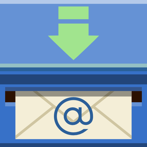 Places mail inbox icon