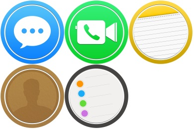 Bubble Circle Pack #2 Icons
