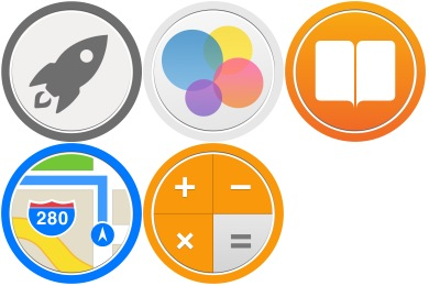 Bubble Circle #3 Icons