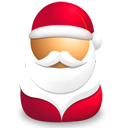 Santa claus icon
