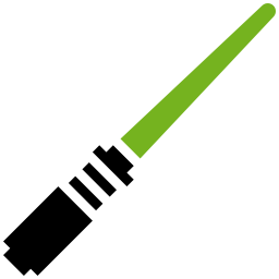 Lightsaber Green icon