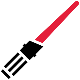 Lightsaber Red icon