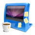 Blue-computer icon